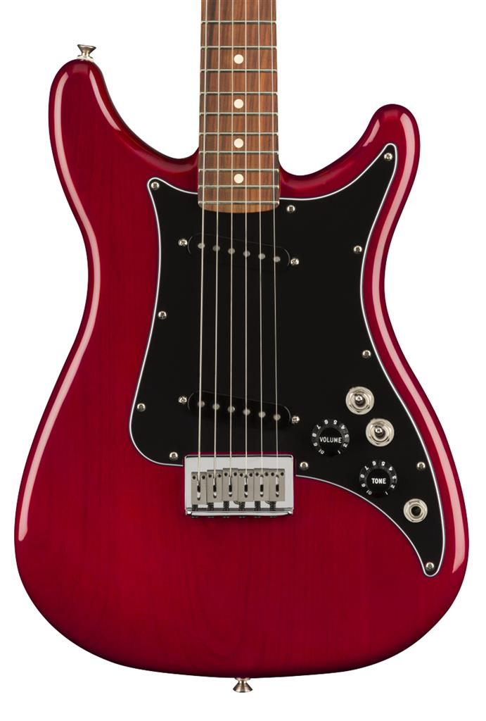 Fender Player Lead II, Crimson Red Transparent, Guitarra Eléctrica