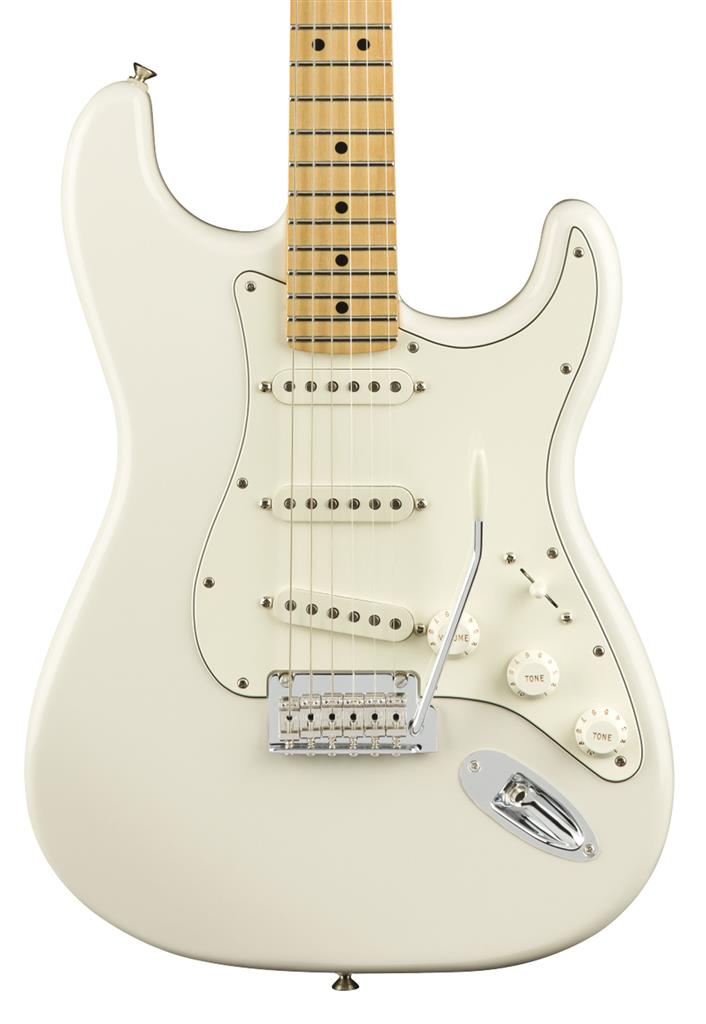 Fender Player Stratocaster, Polar White, Guitarra Eléctrica