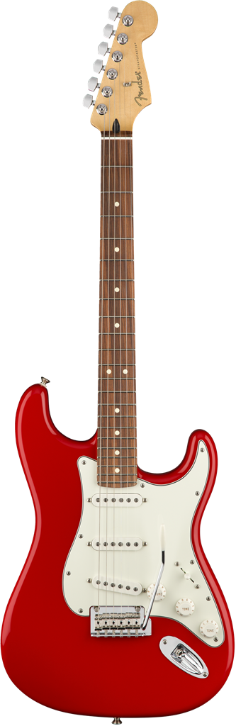 Fender Player Stratocaster, Sonic Red, Guitarra Eléctrica