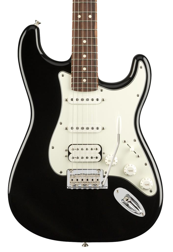 Fender Player Stratocaster HSS, Black, Guitarra Eléctrica