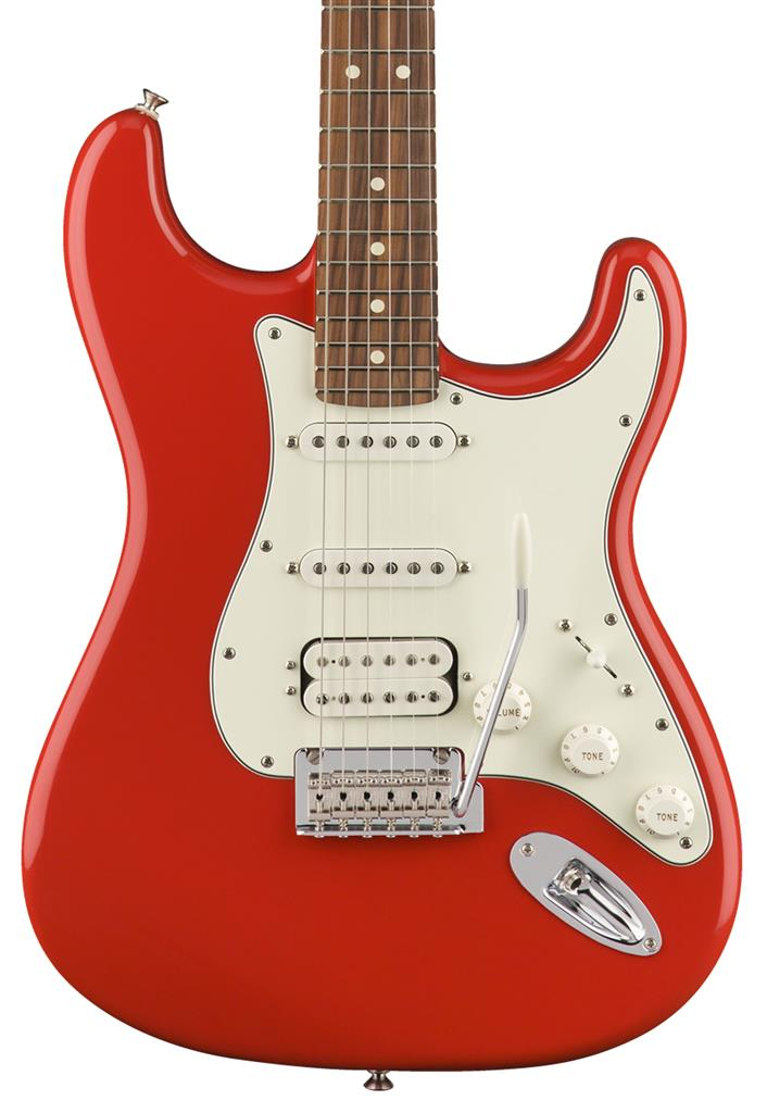 Fender Player Stratocaster HSS, Sonic Red, Guitarra Eléctrica