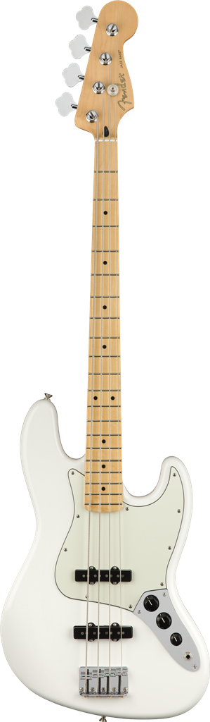Fender Player Jazz Bass  Polar White Bajo Eléctrico