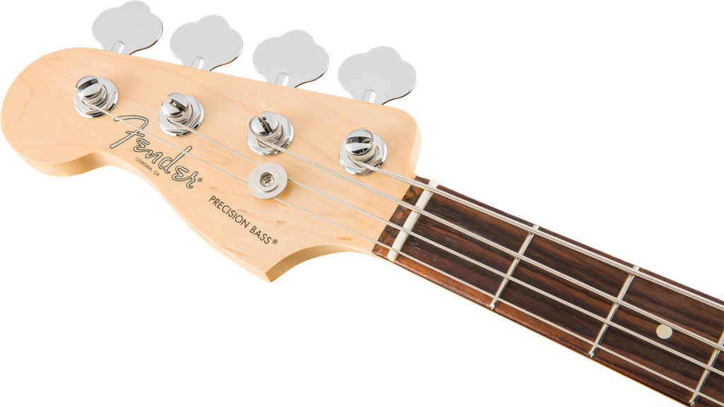 Fender American Pro Precision Bass Left-Hy, Olympic White, Bajo Eléctrico