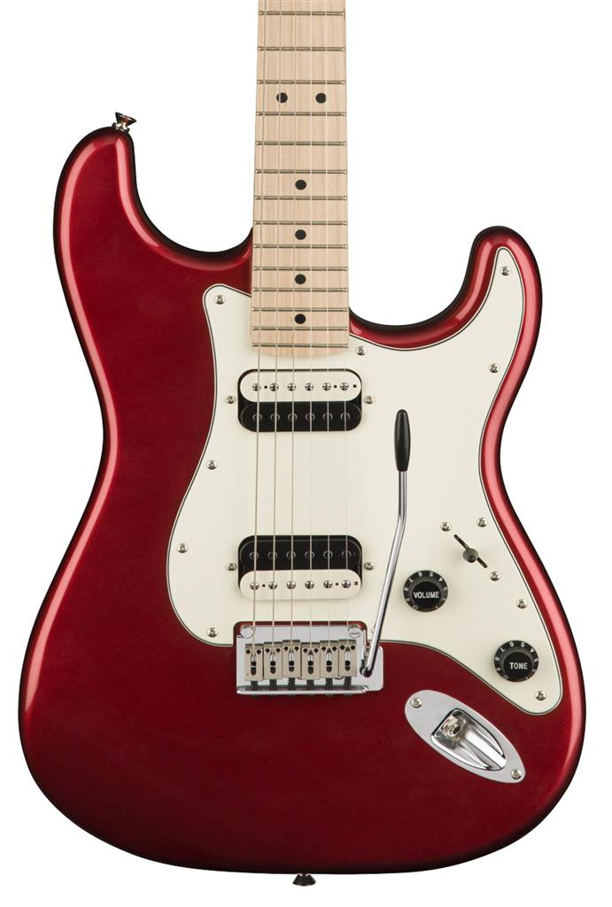 Squier Contemporary Stratocaster HH, Dark Metallic Red, Guitarra Eléctrica