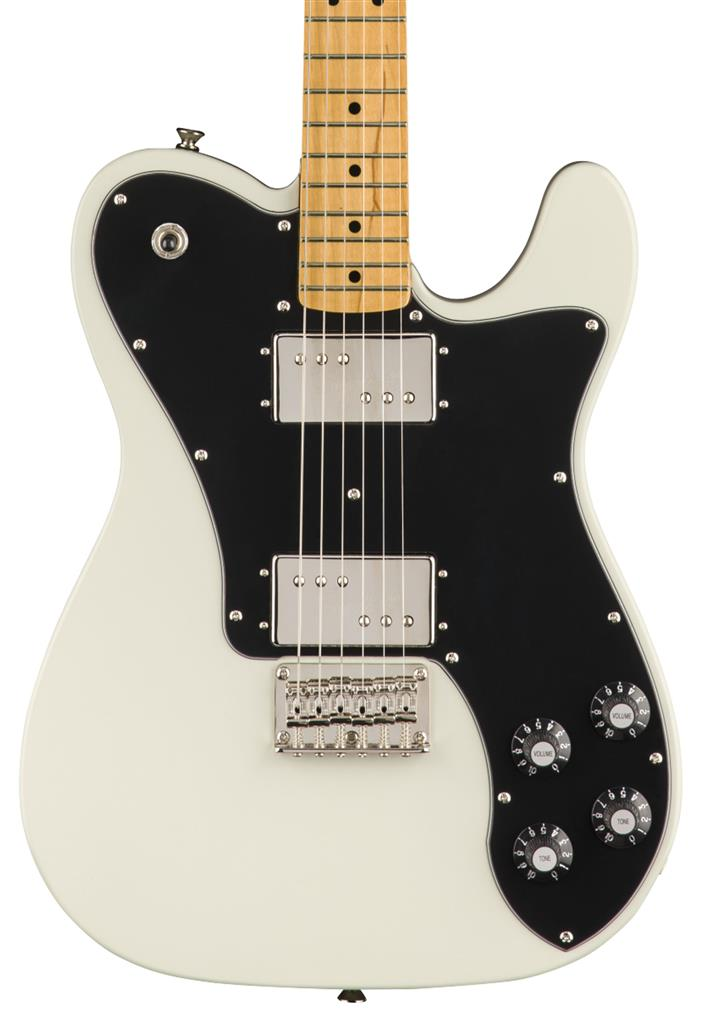 Squier Classic Vibe '70s Telecaster Deluxe, Olympic White, Guitarra Eléctrica