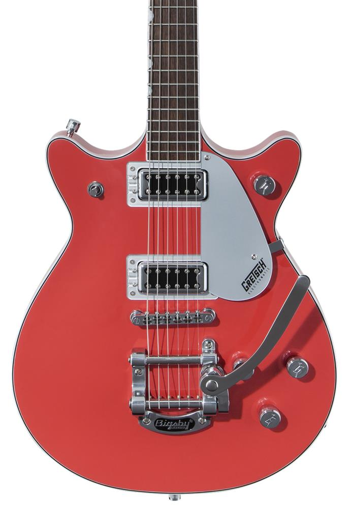 Gretsch G5232T Electromatic Double Jet FT con Bigsby, Tahiti Red, Guitarra Eléctrica