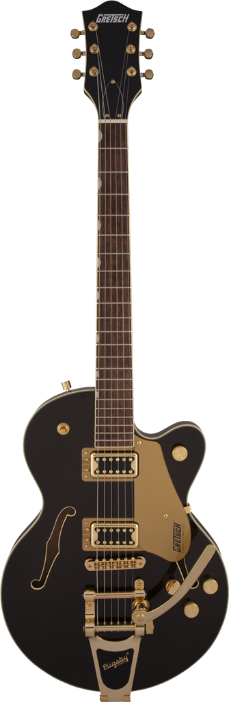 Gretsch G5655TG Electromatic Center Block Jr. Negro Gold, Guitarra Eléctrica