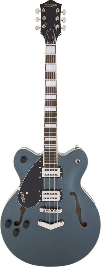 Gretsch G2622LH Streamliner Center Block Double-Cut with V-Stoptail LH, Gunmetal guitarra eléctrica