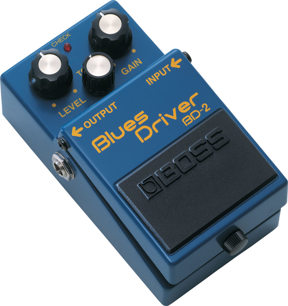 Boss BD-2, Pedal compacto Blues Driver