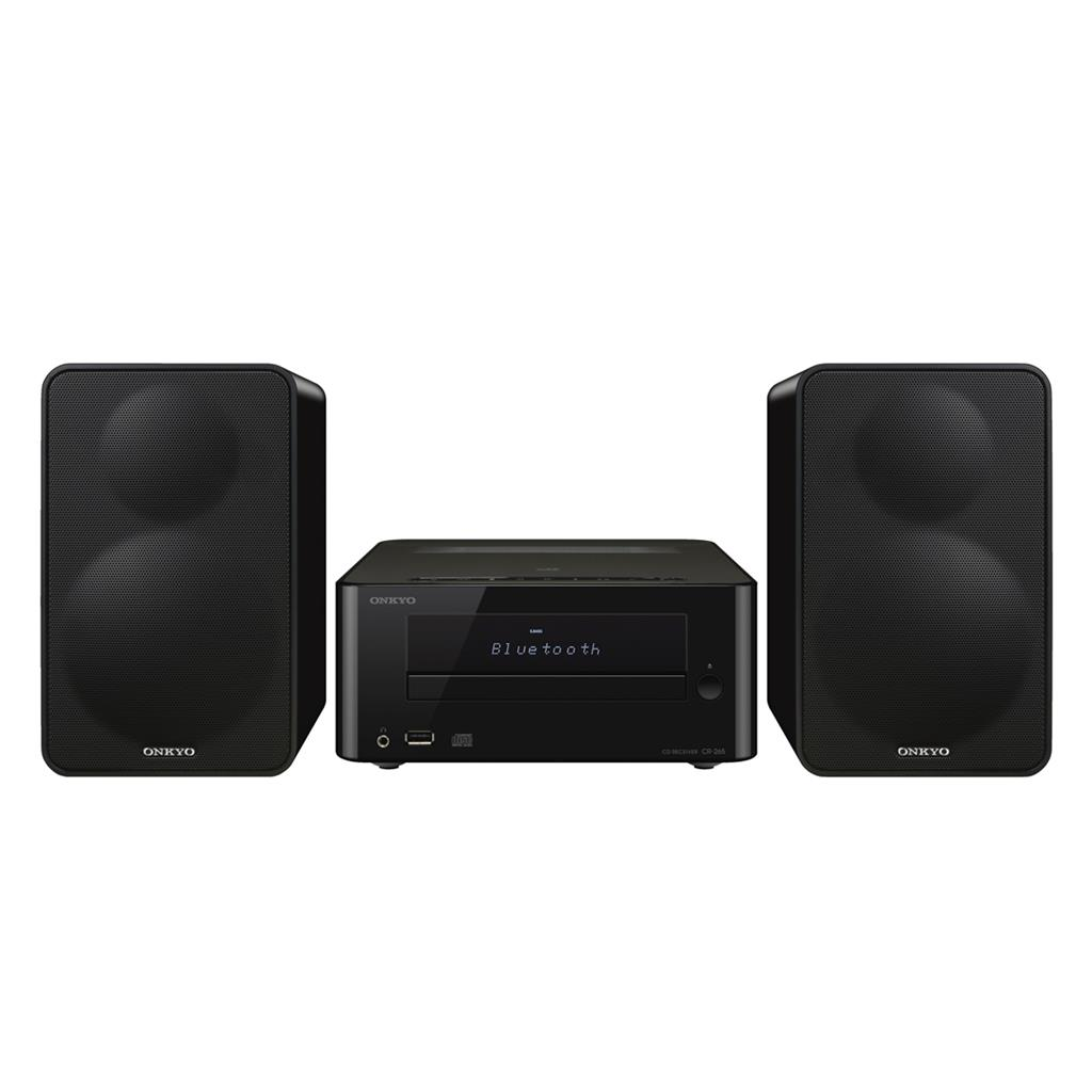 Onkyo CS-265, Negro, Mini Sistema Colibrí Hi-Fi con CD y Bluetooth