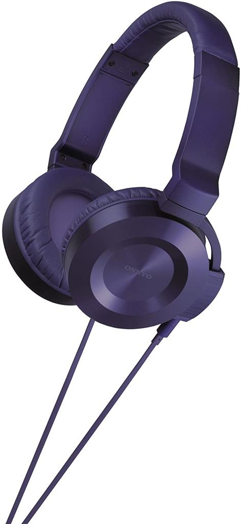 Onkyo ES-FC300, Violeta, On-ear audifonos alambricos