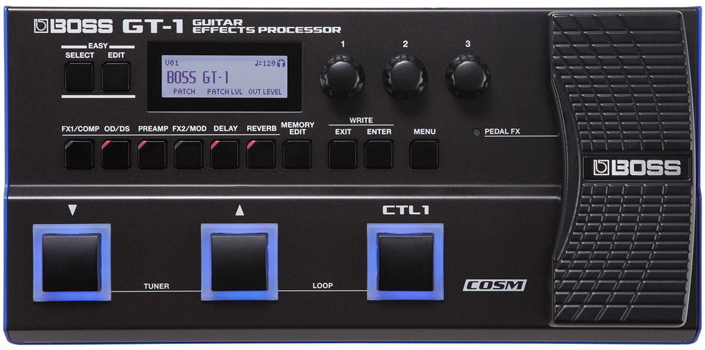 Procesador de Efectos para Guitar Effects Processora