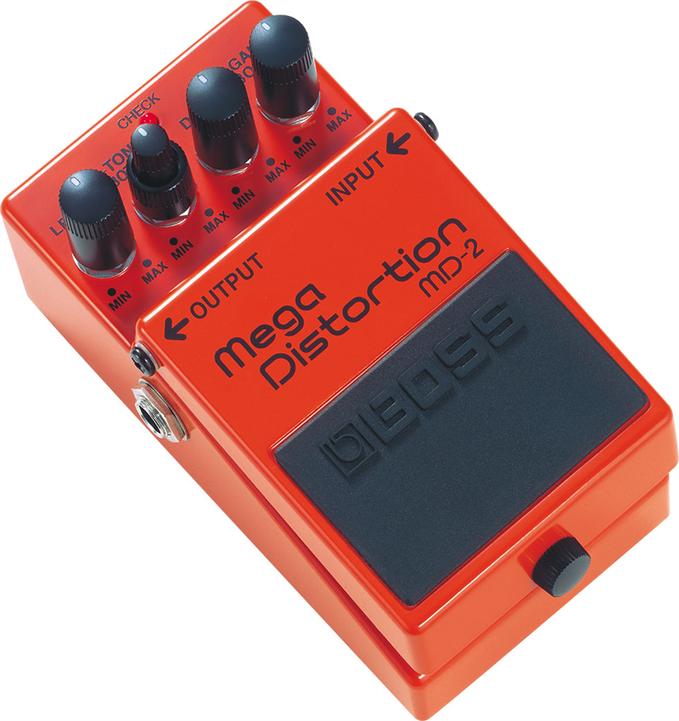 Boss MD-2, Pedal compacto Mega Distortion