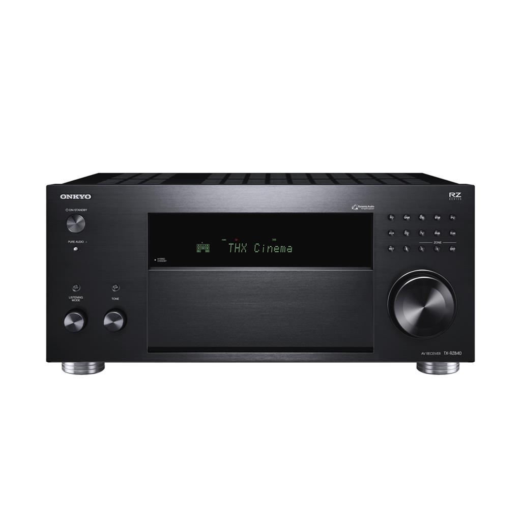Onkyo TX-RZ840, Negro, Receptor inteligente de Audio y Video