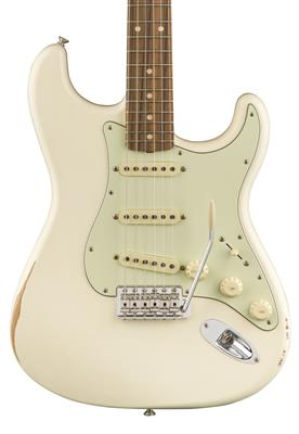 Fender Road Worn '60s Stratocaster, Olympic White, Guitarra Eléctrica