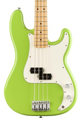 Fender Player Precision Bass®, Maple Fingerboard, Electron Green