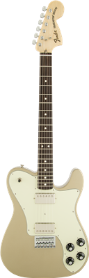 Fender Chris Shiflett Telecaster Deluxe, Shoreline Gold, Guitarra Eléctrica