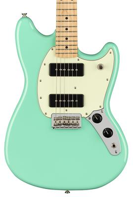 Fender Player Mustang 90, Seafoam Green, Guitarra Eléctrica