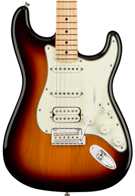 Fender Player Stratocaster HSS, 3-Color Sunburst, Guitarra Eléctrica