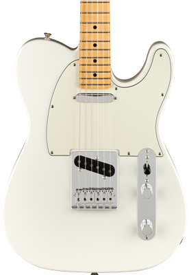 Fender Player Telecaster, Polar White, Guitarra Eléctrica