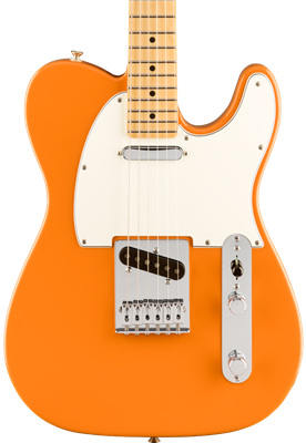 Fender Player Telecaster, Capri Orange, Guitarra Eléctrica