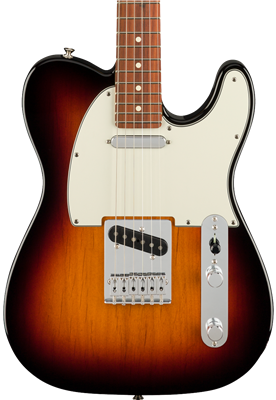 Fender Player Telecaster, 3-Color Sunburst, Guitarra Eléctrica