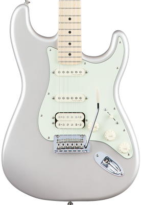 Fender Deluxe Stratocaster HSS, Blizzard Pearl, Guitarra Eléctrica
