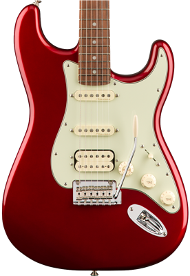 Fender Deluxe Stratocaster HSS, Candy Apple Red, Guitarra Eléctrica