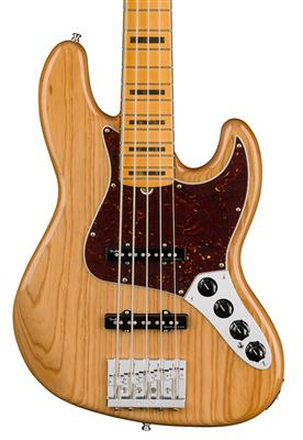 Fender American Ultra Jazz Bass V, Aged Natural, Bajo Eléctrico