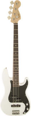 Squier Affinity Series Precision Bass PJ, Olympic White, Bajo Elécctrico