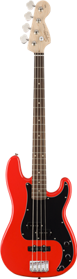 Squier Affinity Series Precision Bass PJ  Race Red Bajo Eléctrico