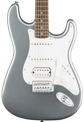 Squier Affinity Series Stratocaster HSS, Slick Silver, Guitarra Eléctrica