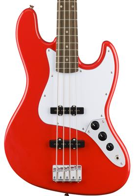 Squier Affinity Series Jazz Bass, Race Red, Bajo Eléctrico