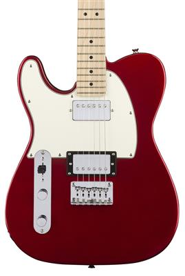 Squier Contemporary Telecaster, Dark Metallic Red, Guitarra Eléctrica zurda