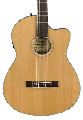 Fender CN-140SCE Nylon Thinline, Natural, Guitarra Electroacústica