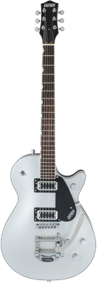 Gretsch G5230T Electromatic Jet FT Single-Cut con Bigsby, Airline Silver, Guitarra Eléctrica