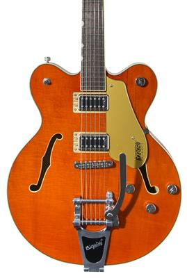 Gretsch G5622T Electromatic Center Block Double-Cut con Bigsby, Orange Stain, Guitarra Eléctrica