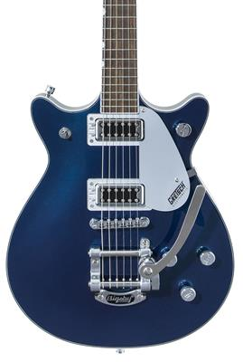 Gretsch G5232T Electromatic Double Jet FT con Bigsby, Midnight Sapphire, Guitarra Eléctrica