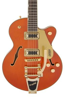 Gretsch G5655TG Electromatic Center Block Jr. Single-Cut con Bigsby, Orange Stain, Guitarra Eléctric