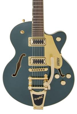 Gretsch G5655TG Electromatic Center Block Jr Single-Cut Bigsby, Cadillac Green, Guitarra Eléctrica