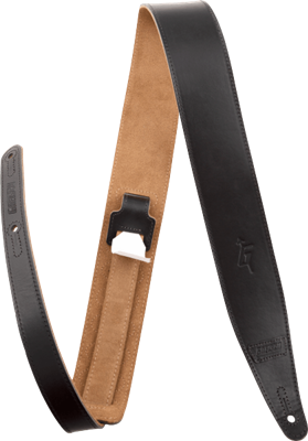 "Gretsch Gretsch G Arrow Leather Strap, Black, 3"", Tahalí"