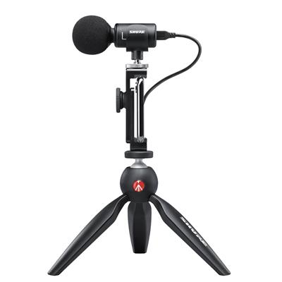 SHURE MV88+ VIDEO KIT, Micrófono Condensador Estéreo Digital