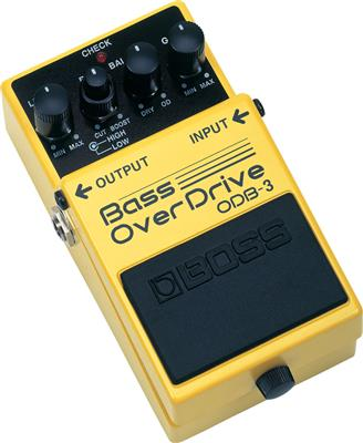 PEDAL COMPACTO P/BAJO BASS OVERDRIVE