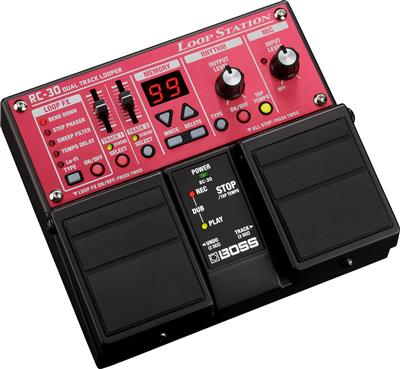 Boss RC-30, Pedal doble Loop Station dos canales