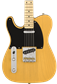 Fender American Original '50s Telecaster Left-Hy  Butterscotch Blonde Guitarra Eléctrica