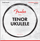 Fender Tenor Ukulele Strings, Set of Four, Cuerdas para Ukulele