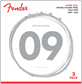 Fender Super 250L NPS Ball End Strings (.009-.042 Gauges) 3-Pack Cuerdas para Guitarra eléctrica