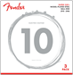 Fender Super 250R NPS Ball End Strings (.010-.046 Gauges) 3-Pack Cuerdas para Guitarra eléctrica