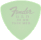 Fender 346 Shape, Dura-Tone .58, Surf Green (12) Plumillas