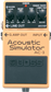 "Boss AC-3, Pedal compacto ""Acoustic Simulator"